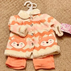 Newborn Winter Matching Pants and Sweater Set